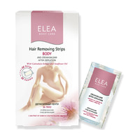 Восковые полоски для тела Elea Professional Body Care Hair Removing Strips Body