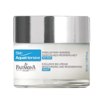 Крем для лица ночной увлажняющий Farmona Skin Aqua Intense Moisturizing and Regenerating Night Cream