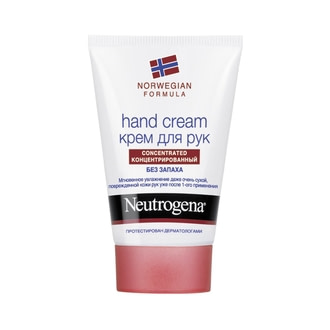 Крем для рук без запаха Neutrogena Norwegian Formula Hand Cream Concentrated
