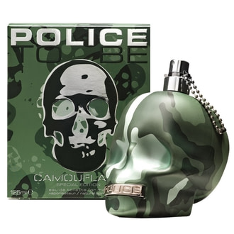 Police To Be Camouflage For Man
