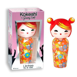 Kokeshi Litchee by Jeremy Scott