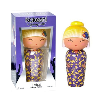 Kokeshi Lotus By Jeremy Scott