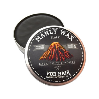 Воск для волос Manly Club Wax Black