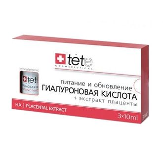 Гиалуроновая кислота с экстрактом плаценты TETe Cosmeceutical Placental Extract