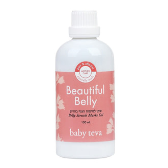 Масло для ухода за кожей живота во время и после беременности Baby Teva Beautiful Belly