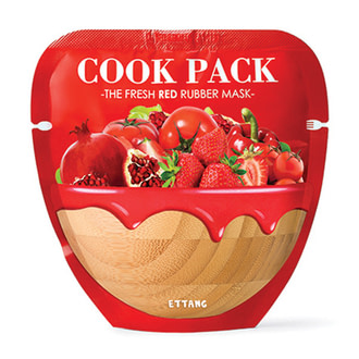 Маска для лица Ettang Cook Pack The Fresh Red Rubber Mask