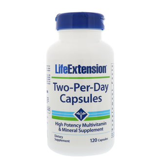 Мультивитаминная формула Life Extension Two-Per-Day Capsules Dietary Supplement