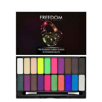 Тени для век Freedom Makeup London Decadence Palette