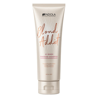 Оттеночный шампунь Indola Blond Addict PinkRose Shampoo