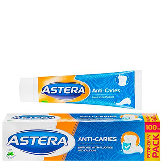 Зубная паста анти-кариес Astera Anti-Caries Toothpaste