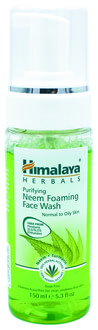 Пінка для вмивання з німом Himalaya Herbals Neem Foaming Face Wash