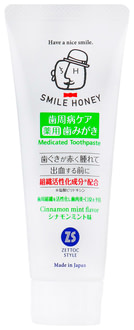 Зубная паста Zettoc Smile Honey Activation of Cellular Tissue