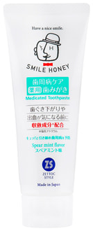 Зубная паста Zettoc Smile Honey Astringent Effect
