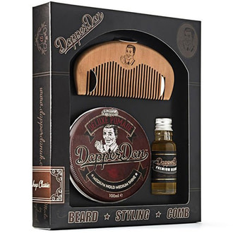 Набор Dapper Dan Hairy Man Combo Set Deluxe Pomade