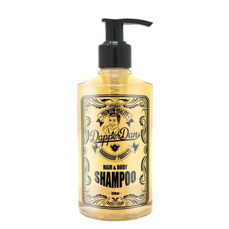 Шампунь и гель для душа Dapper Dan Hair And Body Shampoo