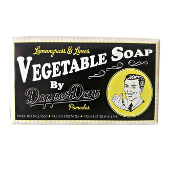 Мыло мужское натуральное Dapper Dan Vegetable Soap Lemongrass And Limes