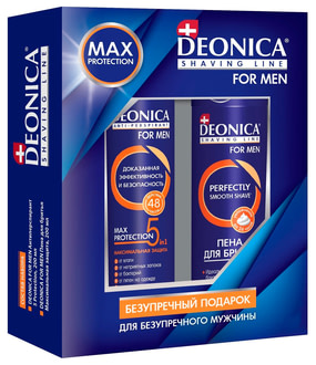 Набор Deonica Men Max Protection 5