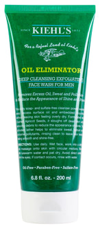 Мужской гель для лица Kiehl's Oil Eliminator Deep Cleansing Exfoliating Face Wash