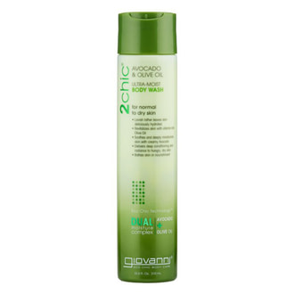 Увлажняющий гель для душа Giovanni 2chic Ultra-Moist Body Wash Avocado & Olive Oil