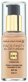 Тональный крем Max Factor Facefinity All Day Flawless 3-in-1 Foundation SPF 20