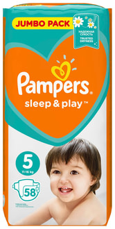 Подгузники Pampers Sleep & Play Junior 5 (11-16 кг)