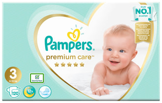 Підгузки Pampers Premium Care Midi 3 (6-10 кг)