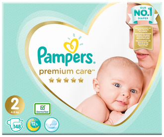 Підгузки Pampers Premium Care Mini 2 (4-8 кг)