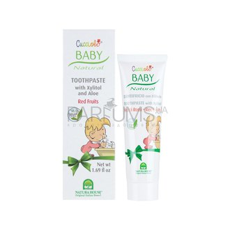 Фото Детская зубная паста Natura House Baby Cucciolo Toothpaste Red Fruits