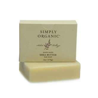 Фото Мыло с маслом карите Simply Organic Soap-Shea Butter