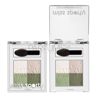 Фото Тени для век Miss Sporty Eyeshadow Quad Studio
