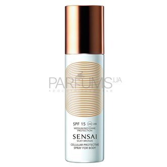 Фото Солнцезащитный спрей для тела Kanebo Sensai Silky Bronze Cellular Protective Spray For Body SPF15