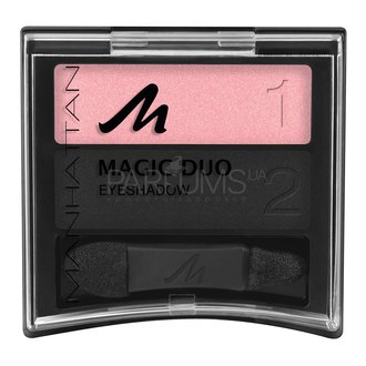 Фото Тени для век Manhattan Magic Duo Eyeshadow