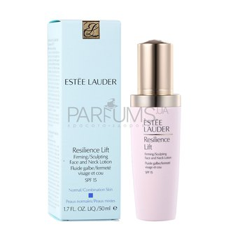 Фото Лифтинговый лосьон Estee Lauder Resilience Lift Firming/Sculpting Face and Neck Lotion SPF 15