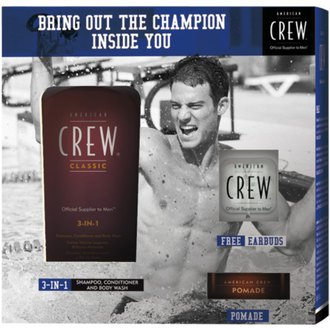 Фото Набор American Crew Champions Edition Pomade 3 in 1 Set
