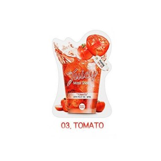 Фото Тканевая маска c натуральными экстрактами Tomato (Томат) Holika Holika Juicy Mask Sheet
