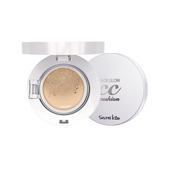 Фото Компактный CC-крем для лица Secret Key Face Glow CC Cushion