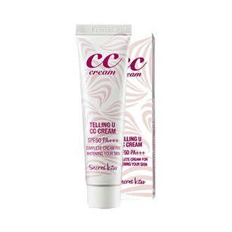 Фото CC-крем для лица с УФ защитой Secret Key Telling U CC Cream SPF50 PA+++