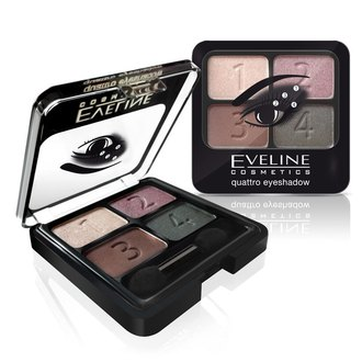 Фото Тени для век Eveline Cosmetics Quattro Eye Shadow