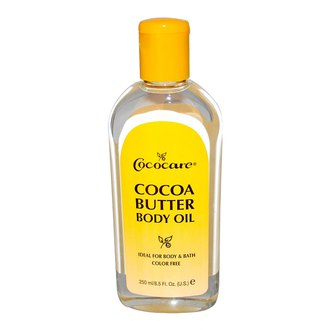 Фото Масло какао для тела Cococare Cocoa Butter Body Oil Softens And Conditions