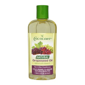 Фото Натуральное масло виногадной косточки Cococare Natural Grapeseed Oil Hair & Skin Conditioner