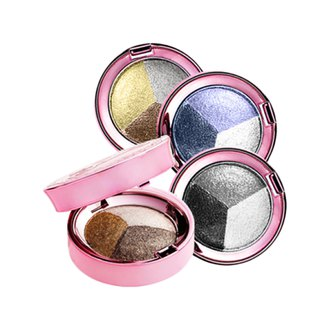 Фото Палетка из трех запеченных теней Lioele Dollish Triple Eyeshadow