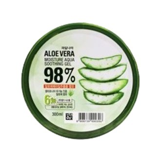 Фото Увлажняющий гель с алоэ Welcos Kwailnara Aloe Vera Moisture Real Soothing Gel