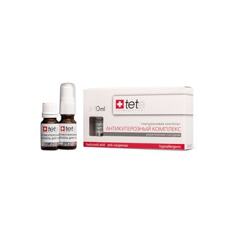 Фото Гиалуроновая кислота с антикуперозным комплексом TETe Cosmeceutical Hyaluronic acid Anticouperose