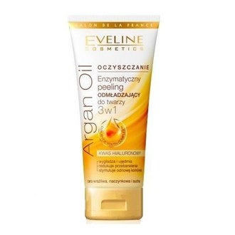 Фото Пилинг 3в1 для лица омолаживающий Eveline Cosmetics Argan Oil
