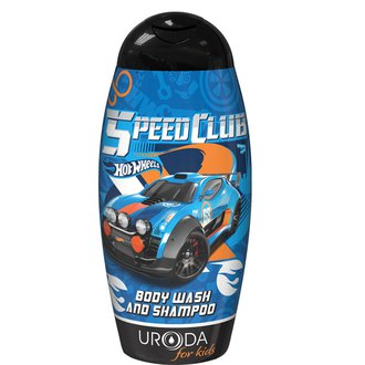 Фото Шампунь-гель для душа Uroda Bi-Es Hot Wheels Fast