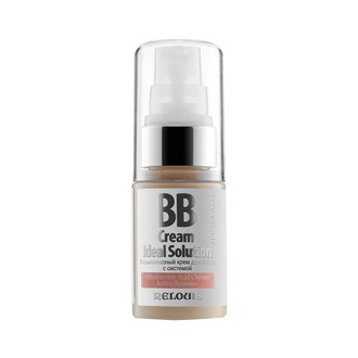 Фото Комплексный BB-крем для лица Relouis Cream Ideal Solution