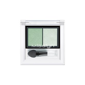 Фото Тени для век Misslyn High Shine Duo Eyeshadow