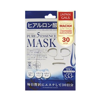 Фото Маска для лица с гиалуроновой кислотой Japan Gals Pure5 Essential Hyaluronic Acid
