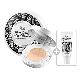 Фото ББ-кушон для лица Secret Key Secret Kiss Face Coating Angel Cushion + Refill