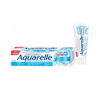 Фото Зубная паста STS Cosmetics Aquarelle Sensitive+Whitening Toothpaste